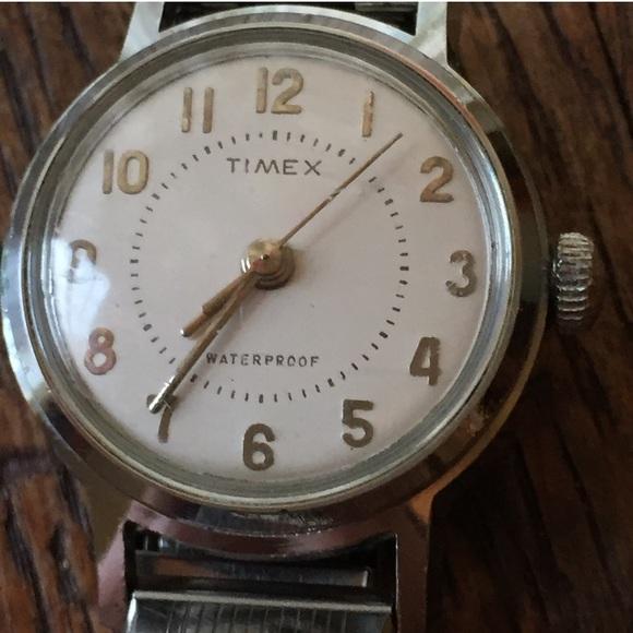 Timex Accessories - Neat Timex Mechanical Hand Wind Waterproof Watch